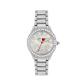 Betsey Johnson Ladies' Stainless Steel Bracelet Watch - Product number 1397796