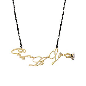 Betsey Johnson Ooh La La Necklace - Product number 1398377