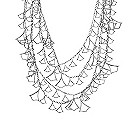 Badgley Mischka sterling silver white sapphire necklace - Product number 1399667