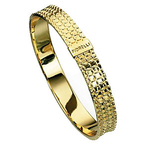 Fiorelli Gold-Plated Textured Bangle - Product number 1400487
