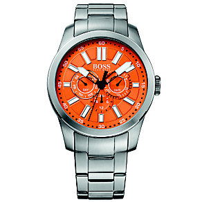 Boss Orange Men's Orange Multi Dial Bracelet Watch - Product number 1400908