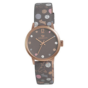 Radley Ladies' Rose Gold-Plated Leather Strap Watch - Product number 1402110