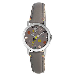 Radley Ladies' Stainless Steel Brown Leather Strap Watch - Product number 1402242