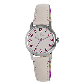 Radley Ladies' Stainless Steel White Leather Strap Watch - Product number 1402269