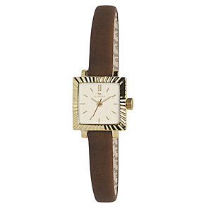 Radley Ladies' Square Dial Brown Leather Strap Watch - Product number 1402293