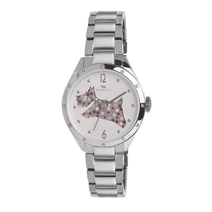 Radley Ladies' Cream Dial Stainless Steel Bracelet Watch - Product number 1402366