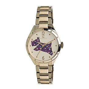 Radley Ladies' Champagne Dial Gold-Plated Bracelet Watch - Product number 1402374