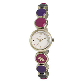 Radley Ladies' Multi Colour Gold-Plated Bracelet Watch - Product number 1402420