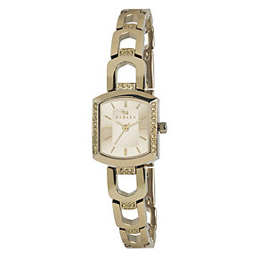 Radley Ladies' Stone Set Gold-Plated Bangle Watch - Product number 1402463