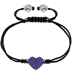 Tresor Paris 8mm purple heart crystal bracelet - Product number 1404113