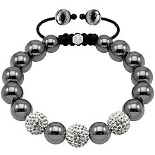 Exclusive Tresor Paris 10mm crystal & magnetite bracelet - Product number 1404334