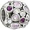 Chamilia Captivate purple with Swarovski crystal charm - Product number 1404768