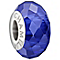 Chamilia sterling silver blue jewelled cubic zirconia charm - Product number 1404830
