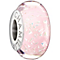 Chamilia silver light pink confetti glass bead - Product number 1405063