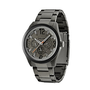 Police Atlanta Black Stainless Steel Bracelet Watch - Product number 1405616