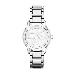 DKNY Ladies' Silver Tone Logo Bracelet Watch - Product number 1405926