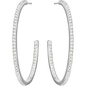 Swarovski Vi white crystal hoop earrings - Product number 1406558