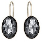 Swarovski Vanilla rose gold-plated drop earrings - Product number 1407139