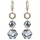 Swarovski Vision gold-plated long crystal earrings - Product number 1407171