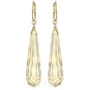Swarovski Veda gold-plated crystal drop earrings - Product number 1407260