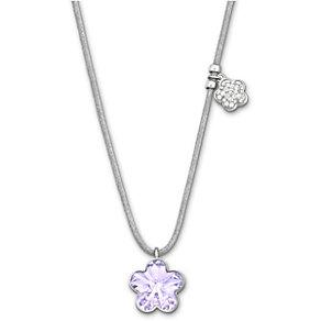 Swarovski Violet Crystal Flower Pendant - Product number 1407619