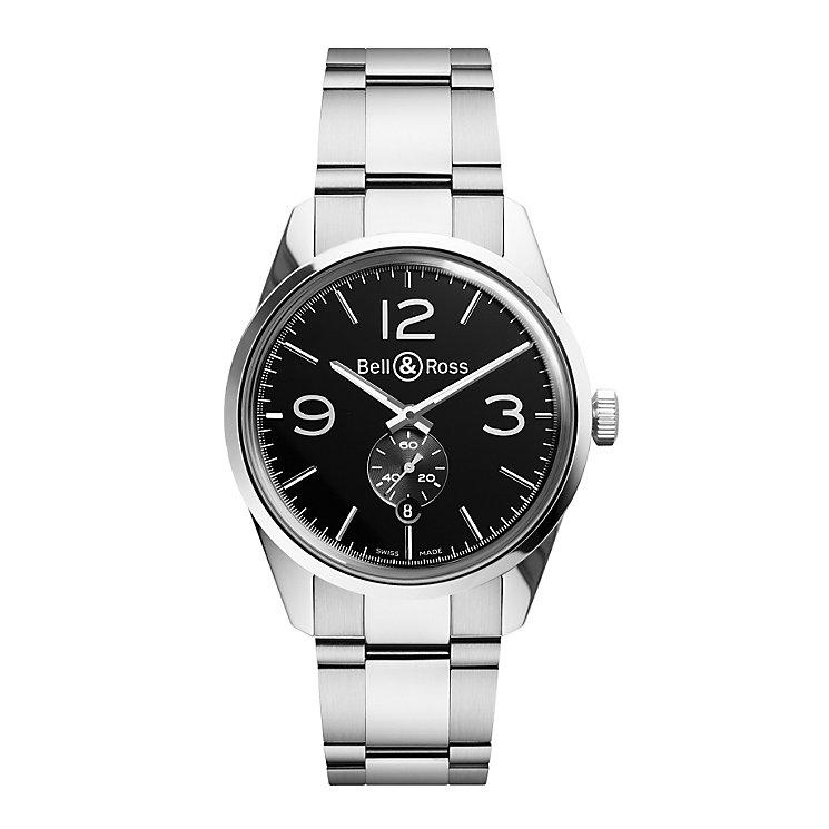 Bell & Ross Officer men's stainless steel bracelet watch - Product number 1407627