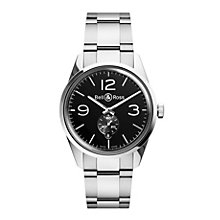 Bell & Ross Officer men's stainless steel bracelet watch - Product number 1407627