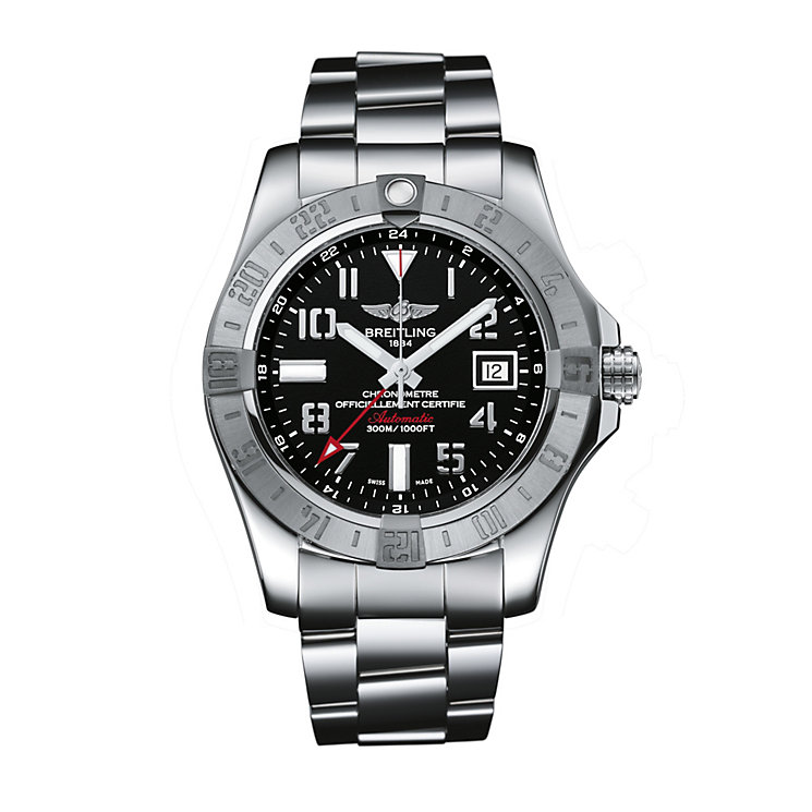 Breitling Avenger GMT men's stainless steel bracelet watch - Product number 1407694