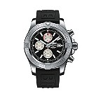 Breitling Super Avenger men's black rubber  strap watch - Product number 1407708