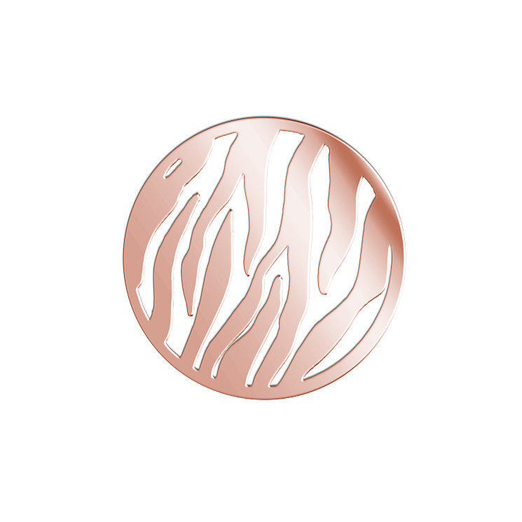 Lucet Mundi rose gold-plated wild thing coin - small - Product number 1409743
