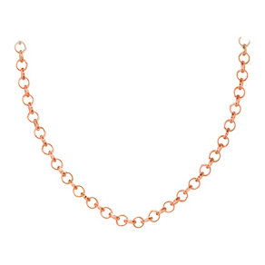 "Lucet Mundi 30"" rose gold-plated chain - Product number 1409794"