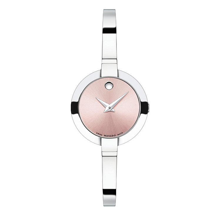 Movado Bela ladies' stainless steel bracelet watch - Product number 1410407