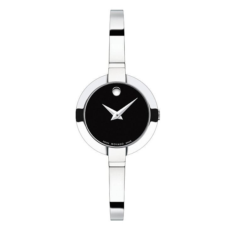 Movado Bela ladies' stainless steel bracelet watch - Product number 1410423