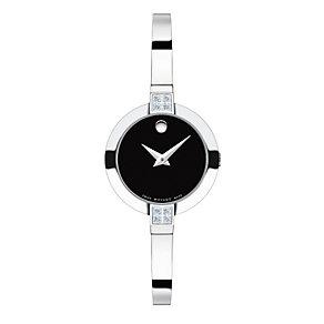 Movado Bela ladies' stainless steel bracelet watch - Product number 1410725