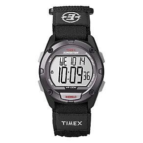Timex Children's Digital Black Nylon Strap Watch - Product number 1410784