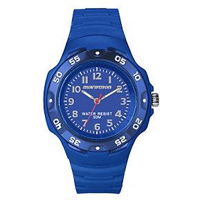 Timex Marathon Children's Blue Resin Strap Watch - Product number 1410792