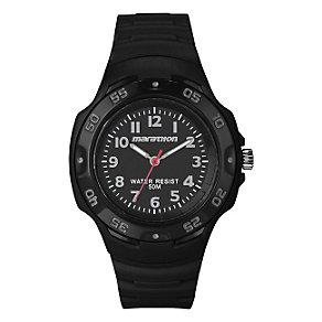 Timex Marathon Children's Black Resin Strap Watch - Product number 1410814