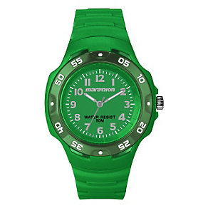 Timex Marathon Children's Green Resin Strap Watch - Product number 1410822