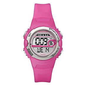 Timex Marathon Children's Digital Pink Strap Watch - Product number 1410857