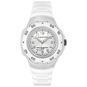 Timex Marathon Children White Silicone Strap Watch - Product number 1410911