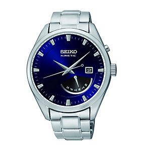 Seiko Kinetic Retrograde Men's Steel Bracelet Watch - Product number 1411225