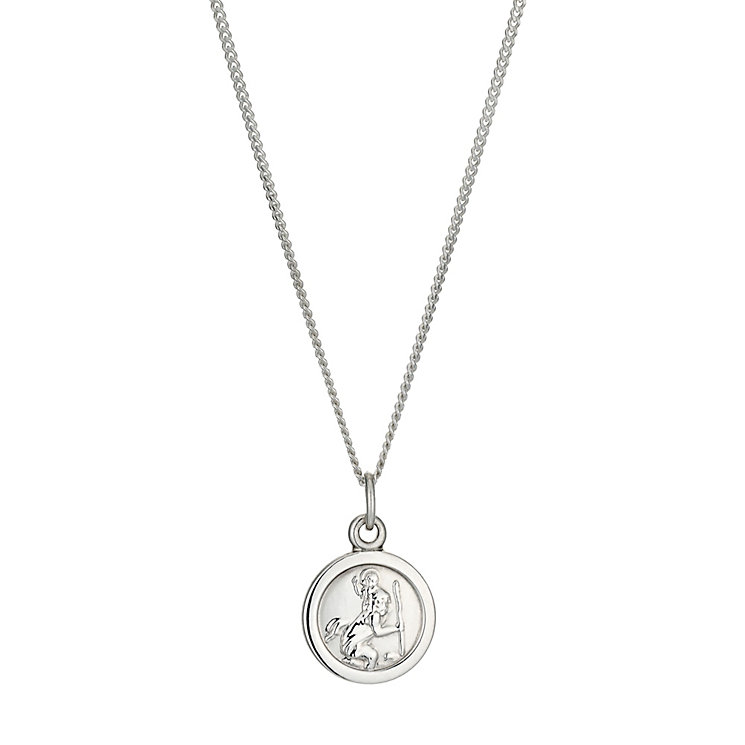 Silver Children's St Christopher's Pendant - Product number 1411411
