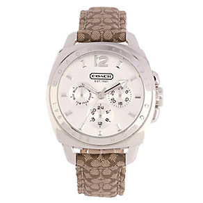 Coach Boyfriend ladies' steel chronograph strap watch - Product number 1412116