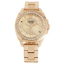 Coach Boyfriend Small ladies' gold-plated bracelet watch - Product number 1412140