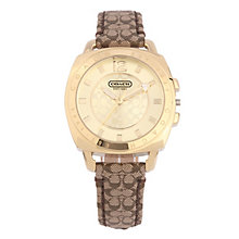 Coach Boyfriend Small ladies' strap watch - Product number 1412175