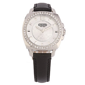 Coach Boyfriend Small ladies' black strap watch - Product number 1412205