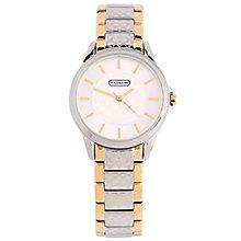 Coach Classic Signature ladies' two colour bracelet watch - Product number 1412353