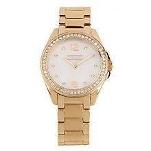 Coach Tristen ladies' gold-tone bracelet watch - Product number 1412639