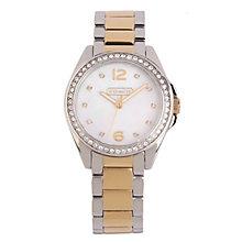 Coach Tristen ladies' two colour bracelet watch - Product number 1412671
