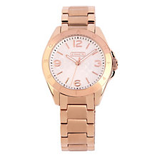 Coach Tristen ladies' rose gold-plated bracelet watch - Product number 1412701